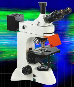 Fluorescent Microscope With Pc