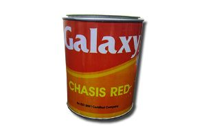 bright red colour PAINT