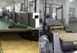 Extruded Snack Processing And Frying Line
