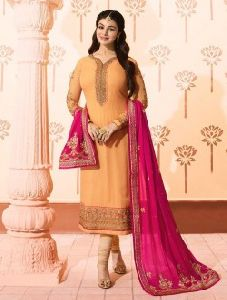 Ayesha Takia Wedding Wear Designer Churidar Suit