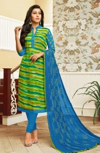 Cotton Daily Wear Designer Printed Churidar Suit