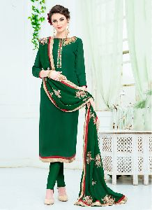 Festival Wear Sequins Work Churidar Salwar Suit