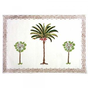 Cotton Napkin Palm Tree