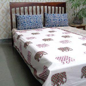 Jaipur Cotton Hand Block Printed Twin Size Dohars
