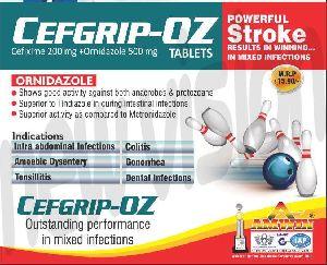 Cefgrip-Oz Tablets