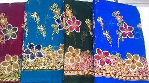Gold Print Sarees Very Popular In Malaysia