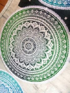 Tapestry Round Table Cover