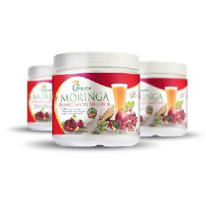 Herbal Moringa Pomegranate Smoothie