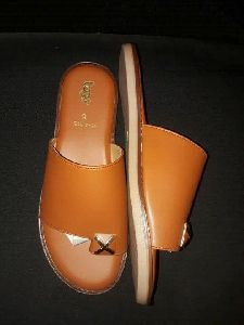 Ladies Brown Casual Sandal