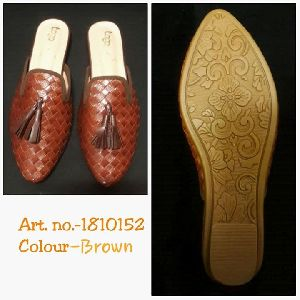 Ladies Designer Half Shoes