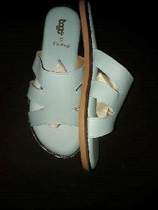 Ladies White Casual Sandal