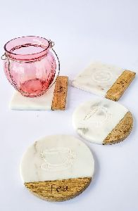 Engraved Marble Coaster