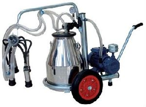 Milking Machine For Cows And Buffaloes