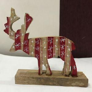 Free Standing Christmas Reindeer
