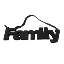 Mdf Wood Couple Letter Wall Hanging