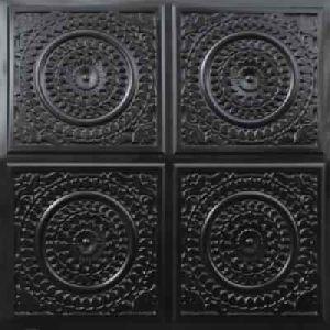 Black Glue Up - Decorative Ceiling Tile