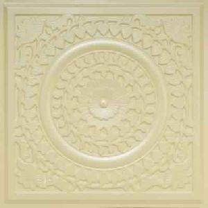 Cream Pearl Glue Up - Decorative Ceiling Tile