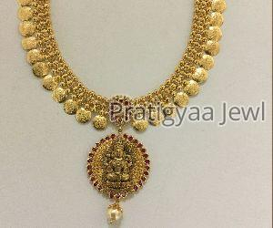 Gold Necklace 03