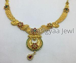 Gold Necklace 04
