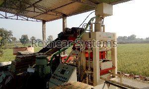 Rex - 1500 Fly Ash Brick Making Plant