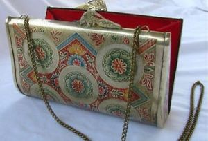 Ethnic Vintage Metal Clutch