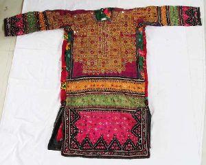 Vintage Long Mirror Designer Dress
