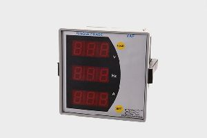 Voltage Current And Frequency Meter