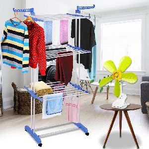 Kawachi Combo Double Pole 3 Tier Clothes Drying Rack