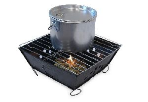 Kawachi Mini Portable Folding Barbecue Grill