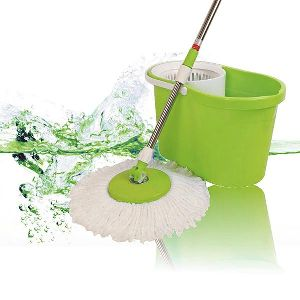 Mini Magic Wash Floor Cleaning 360 Spin Mop