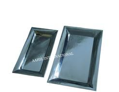 Stainless Steel Rectangular Serving Tray