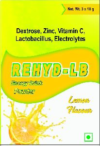 Lemon Rehyd Lb Energy Drink Powder