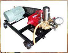 Hydraulic Test Pump Electric Motor / Engine Operated