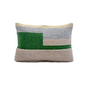 Handmade Wool Cotton Pillow Cover