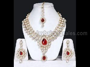 Diamond Gold Necklace Set