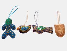 Christmas Hanging Ornaments Zari Handicrafts