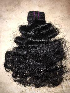 Virgin Single Drawn Natural Curly Hair