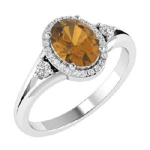 14k White Gold Certified Diamond Ring