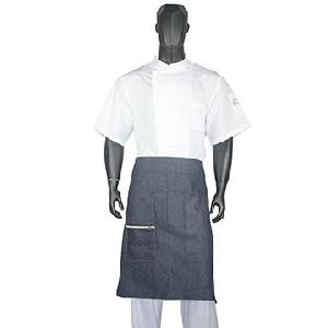 Half Short Waist Aprons For Kitchen Servers