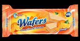 Orange Wafer Biscutis