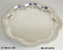 Handicraft Silver Plated Trays