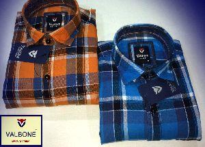 Valbone Check Casual Shirts