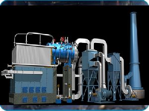 Wood And Boimax Fuel Fired Boiler
