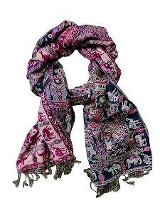 Purpledip Woolen Stole