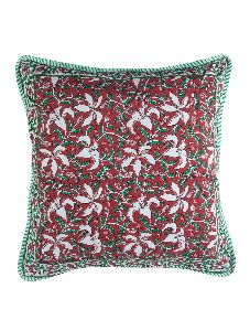Cushion Cover Multi Colors Hand Block Printed Cotton