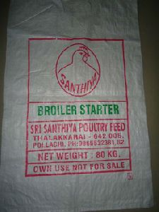 Pp Woven Bag For Packing Poultry Feed