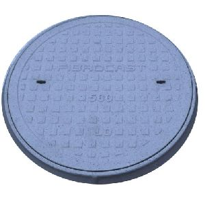 Frp Round Circular Solid Top Manhole Cover