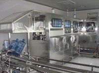Automatic Jar Washing-filling-capping Machine (linear Line)