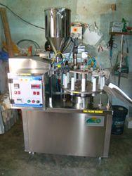Semi-automatic Tube Filling Machine