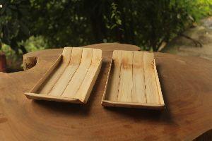 Rectangular Bamboo Serving Tray